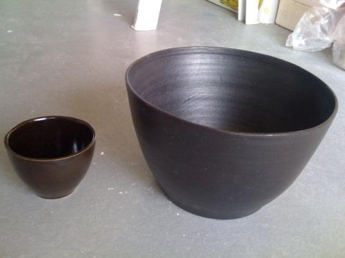 Bekend Mat zwart glazuur | Klei @JZ35
